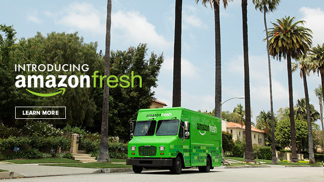Amazon Fresh Online Grocery Delivery Service